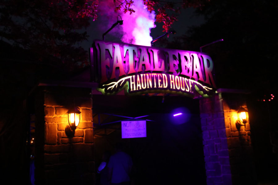 The last haunted house will be put on from 6 to 9 p.m. Halloween night.