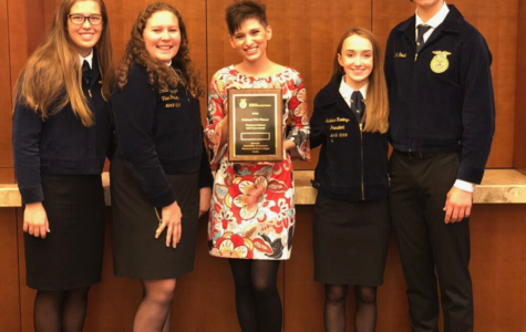 FFA veterinary science team places eighth at nationals