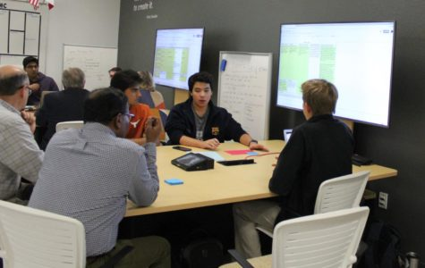 INCubator students meet mentors