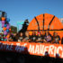 Girls basketball wins best homecoming float