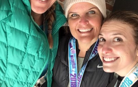 Counselors run half-marathon and 5k in Nashville