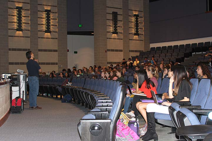 PLTW speaker series gives students unique opportunity