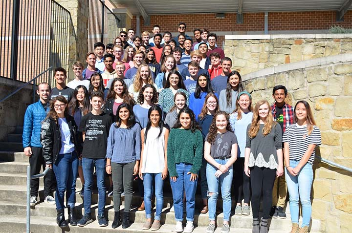 Forty-three students earned National Merit Commended Scholars title, 11 National Hispanic Scholar and 14 National Merit Semifinalist based on their PSAT scores.