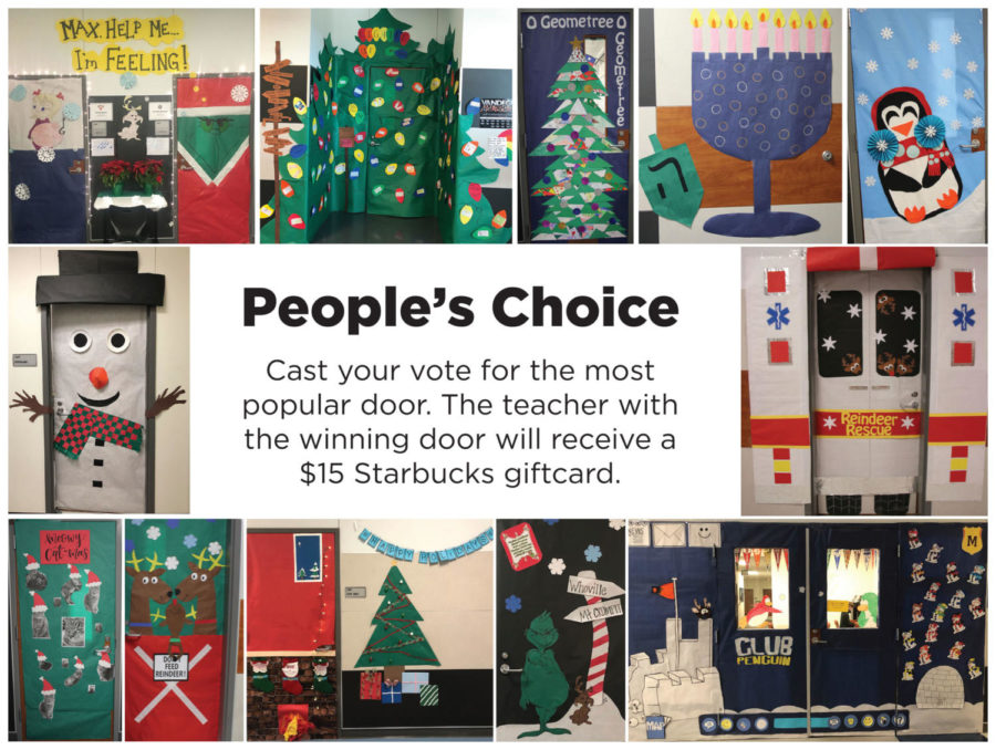Door Decorating Contest- People's Choice Award