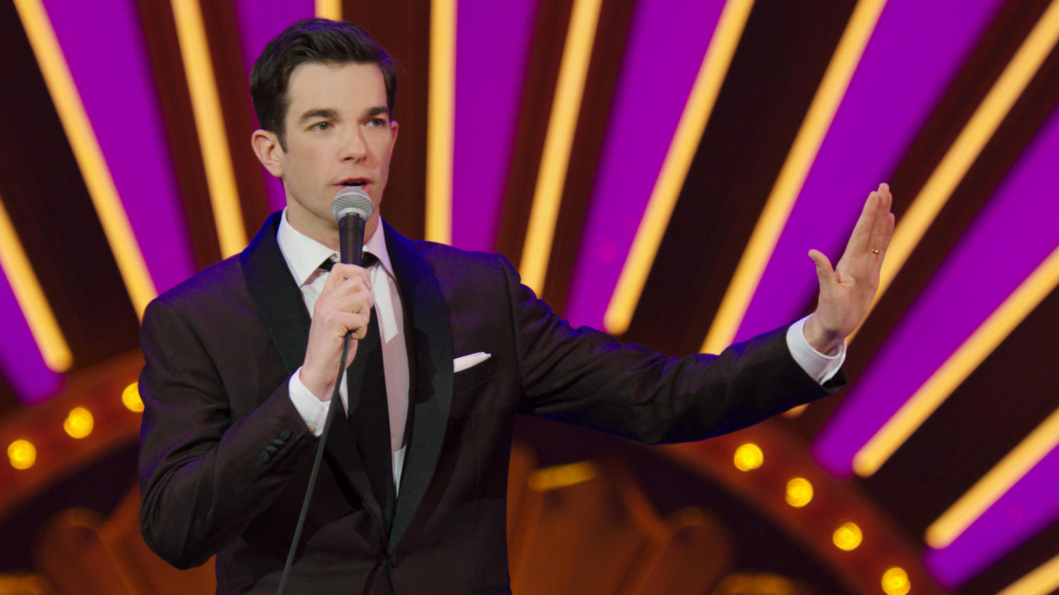 John Mulaney has three series that top the rest.