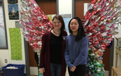 Art Club gets commissioned for Earth Day sculpture