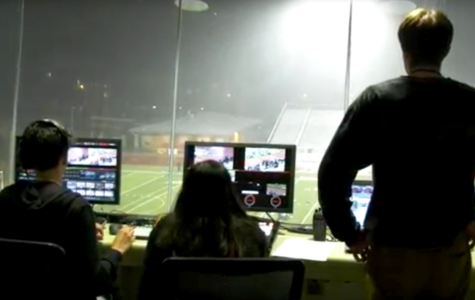AV students take on Jumbotron for track meet