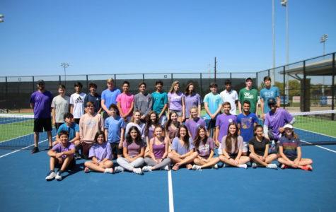 Tennis team supports epileptic teammate through Epilepsy Awareness Day