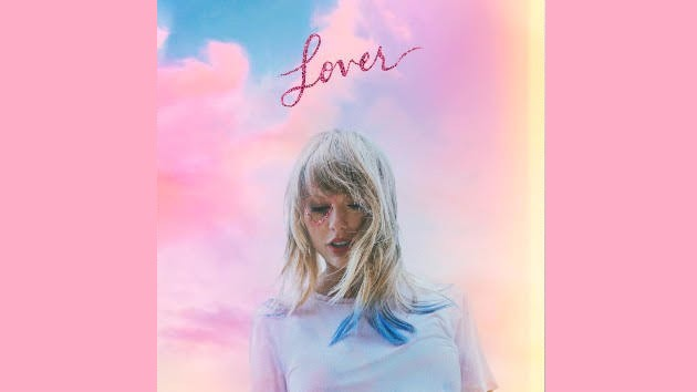 The+cover+of+Taylor+Swift%27s+7th+album.+%22Lover%22+was+released+August+23%2C+2019.