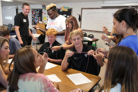 Art teacher returns to Vandegrift after a year in Japan
