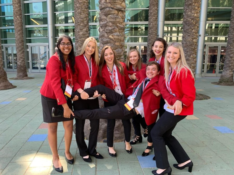 The FCCLA national competition took place in Anahiem, Calif..