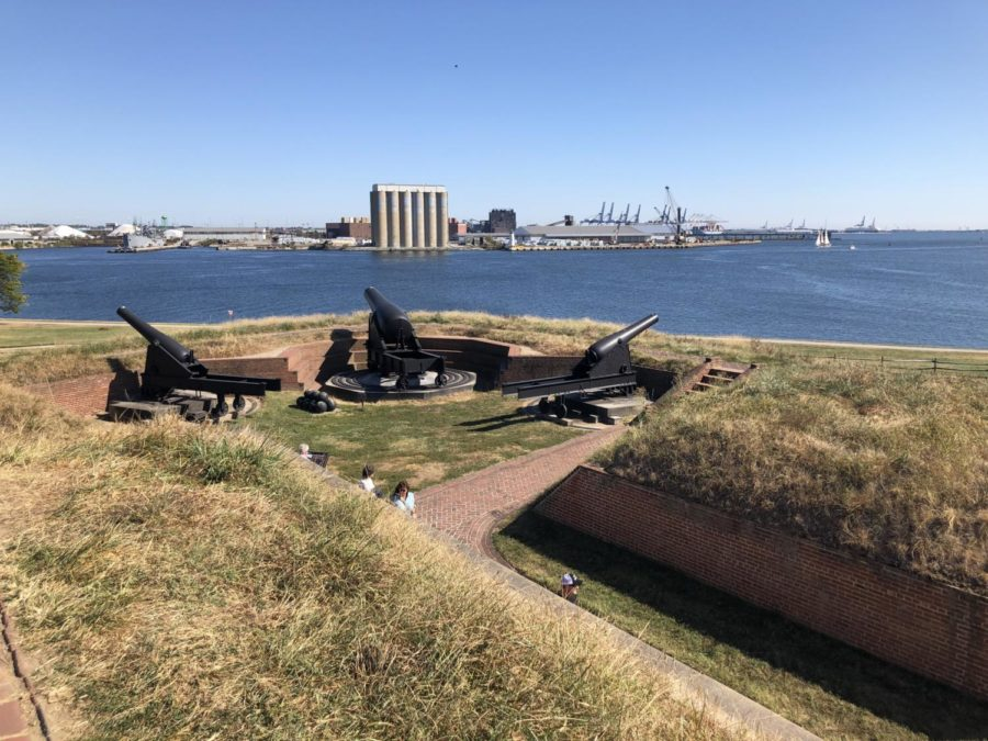 View+of+Baltimore+from+Fort+Mchenry