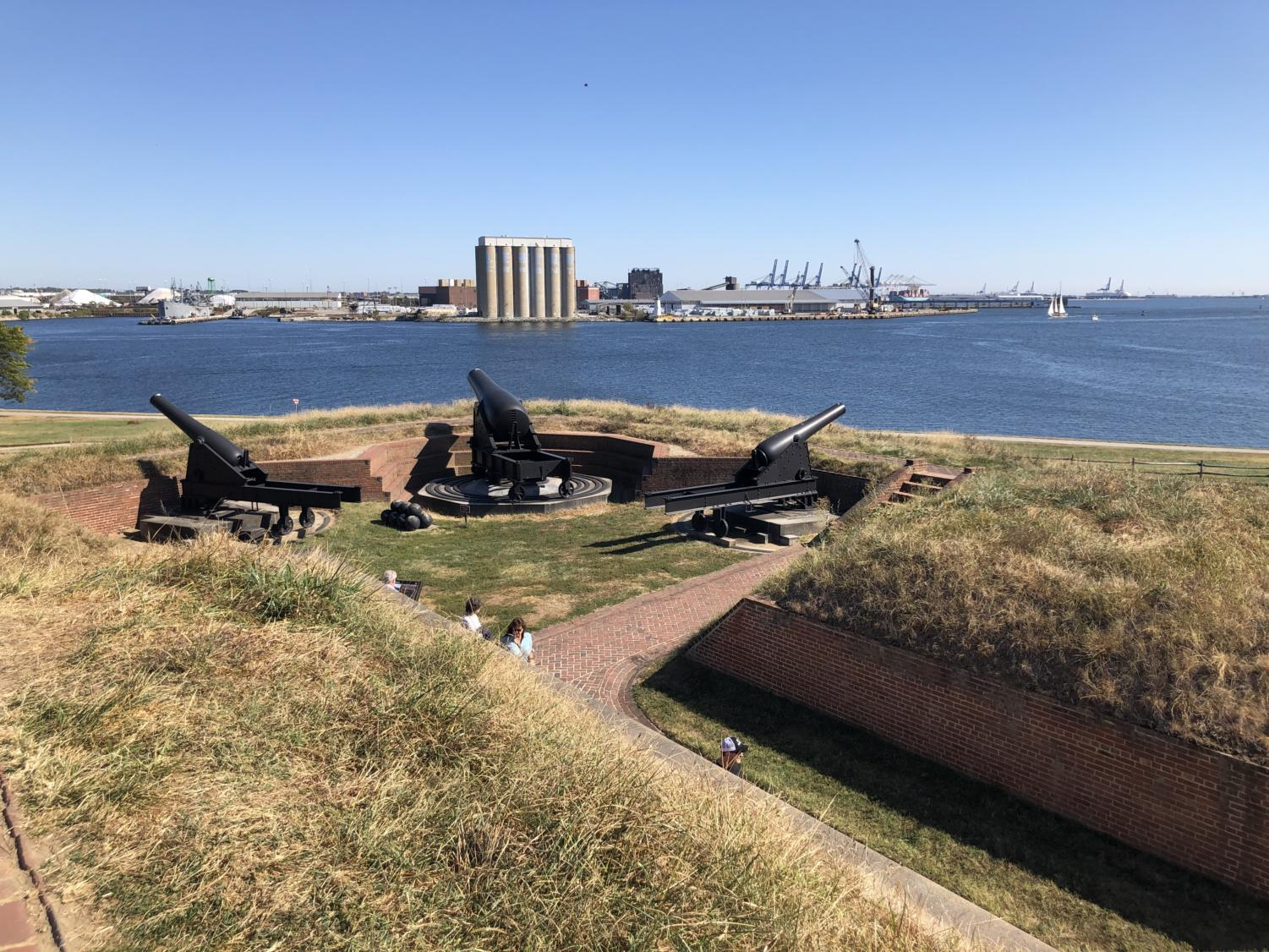 View of Baltimore from Fort Mchenry