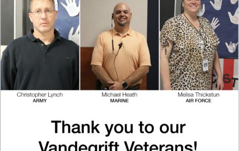 Vandegrift honors 3 veterans