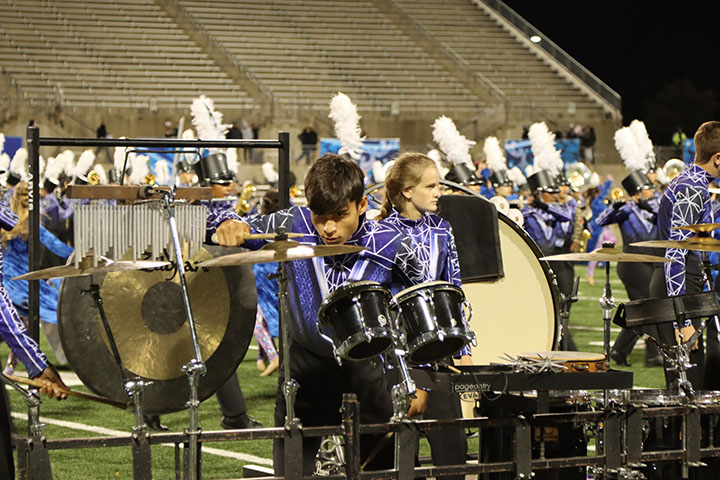 The band placed second at the San Antonio Super Regionals.
