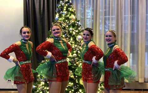Freshmen perform at Macy's Thanksgiving Day Parade