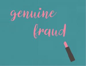 Genuine Fraud is E. Lockharts most recent novel.