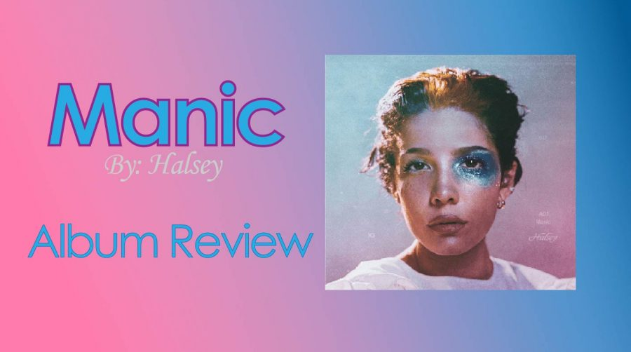 Halseys+latest+album+%22Manic%22+was+released+to+the+public+Jan.+17%2C+2020.