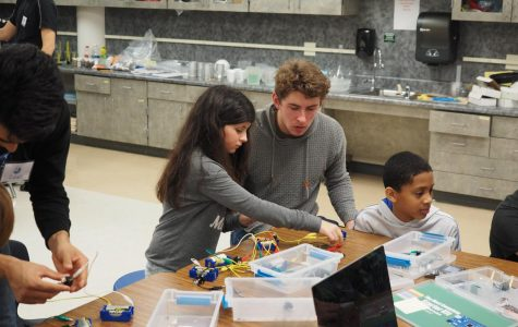 IB juniors teach elementary students about physics