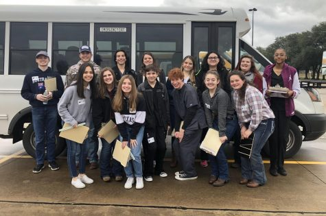 FFA students kicked off National FFA week  by sweeping the Cypress Creek FFA Invitational.