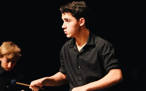 GALLERY: Percussion preforms ensemble concert