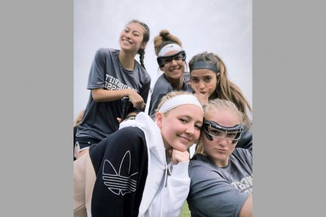 The the girls lacrosse team spent the day in Dallas Saturday competing against two Dallas teams.