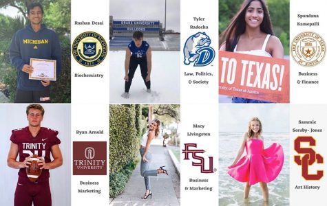 Follow @vhs2020collegewall to see where the seniors are headed!