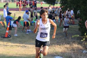 Sophomore Kevin Sanchez reflects on his freshmen season after placing top ten at the district meet.