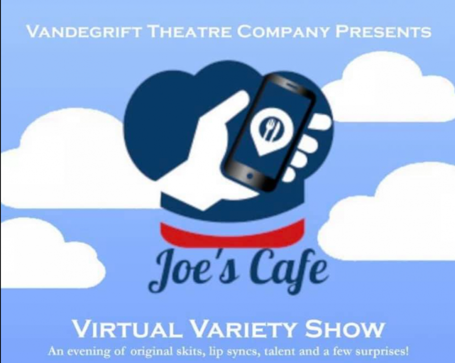 Joe's Cafe, the theater department's annual variety show, is online this year.