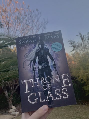 """Throne of Glass"" by Sarah J. Maas was published in 2013."