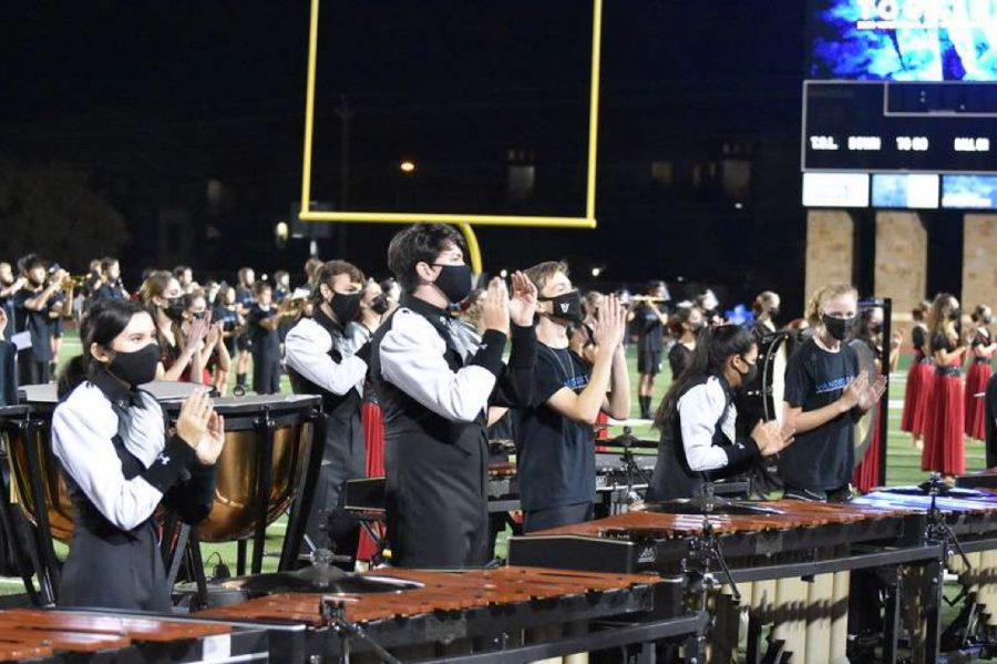 Seniors performed with the band one last time as a family