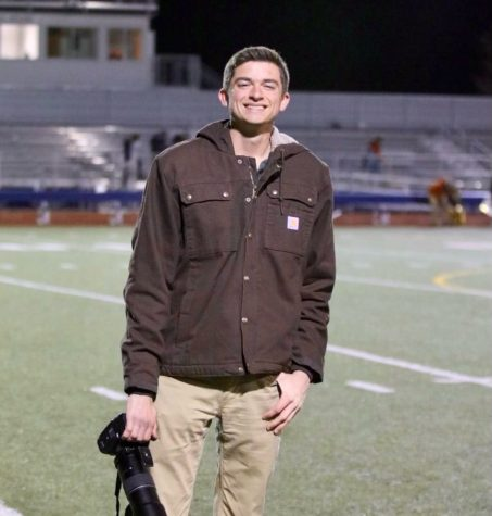 Field posing and reporting at the Wyoming 3A State playoffs.