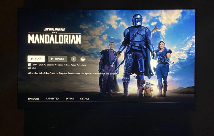 The Mandalorian's first and second season can be viewed on Disney+.