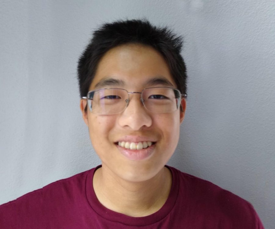Senior Jasper Lee scored a perfect 36 on the ACT.