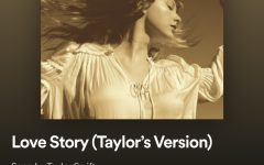 The rerecording of Love Story(Taylor's Version) is now available on Spotify and Apple Music