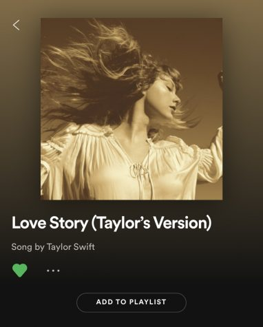 The rerecording of Love Story(Taylor