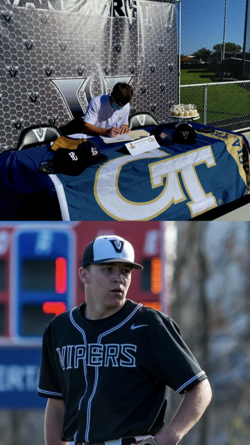 Vandegrift Vipers, Christian Okerholm and Brayden Buchanan, take baseball to the next level.
