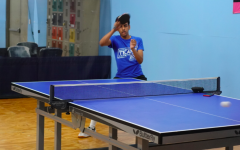 At table tennis club meetings last year, members practiced and played matches.