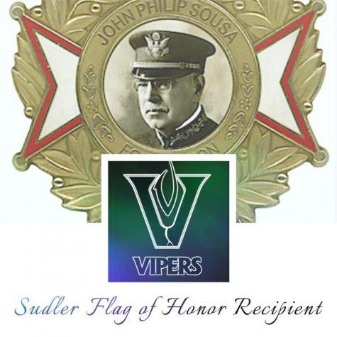 John Philip Sousa Foundation awards Vandegrift the Sudler Flag of  Honor