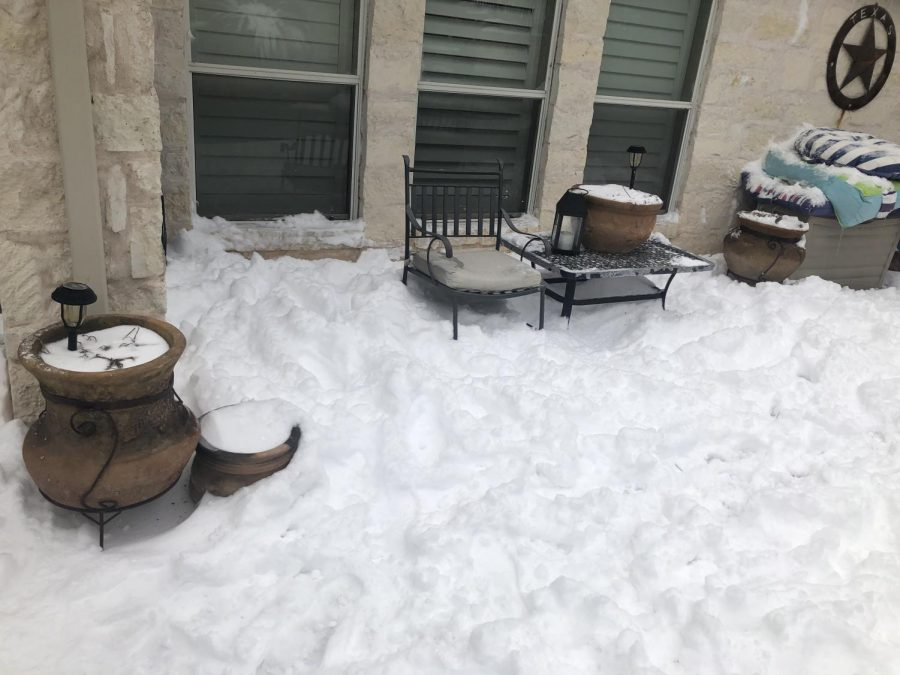 Winter storm Uri caught many Texans off guard when it came through.  Photo by Nicholas Scoggins