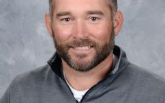 Jarod Hickle is both a teacher and sports coach here at Vandegrift High School.  Photo by VHS