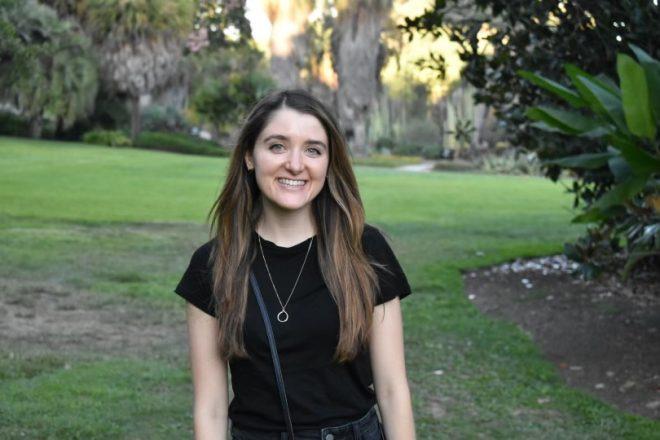 Alum Hannah Von Oldenburg graduated from MIT in 2017