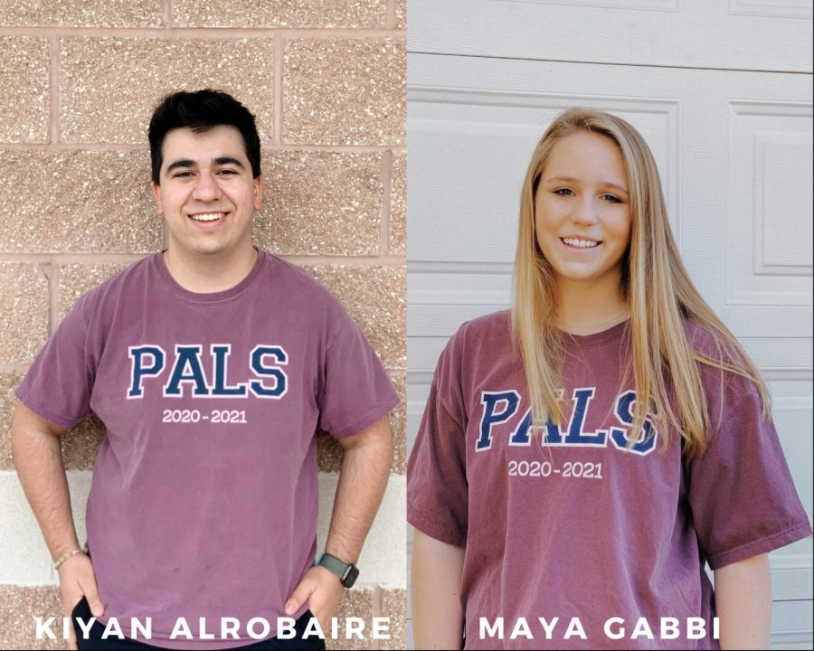This March PALS chose their student officers for next year, including juniors Kiyan Alrobaire and Maya Gabbi.