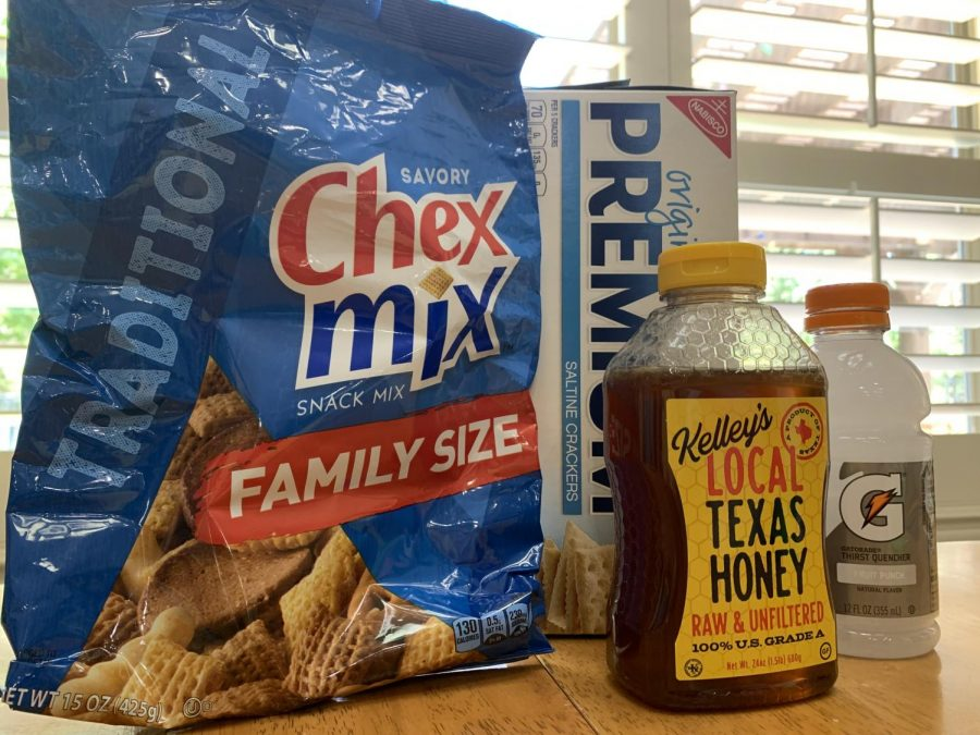 During my COVID experience, the things that were very helpful to me were Chex Mix, saltine crackers, honey, and Gatorade.