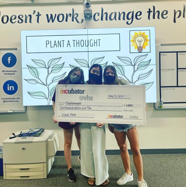The Plant A Thought team, who will be participating in National Pitch as the first place INCubator team.