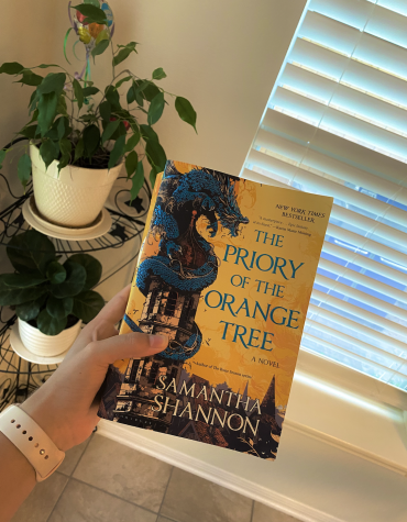 The Priory of the Orange Tree written by Samantha Shannon