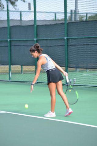 Varsity tennis vs. Vista Ridge