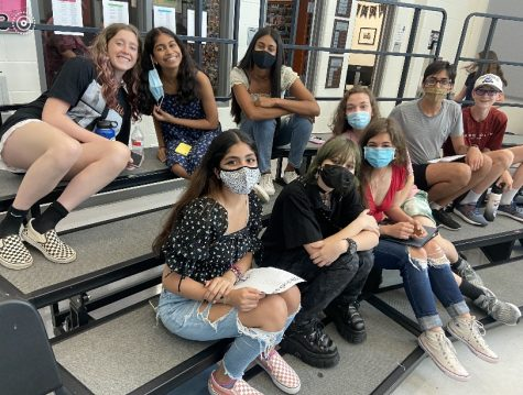 Held on September 16th, featured students prepare for Pop Unplugged event