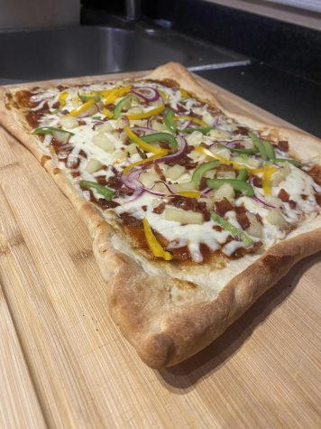 Texas barbecue pizza (Karissa Gonzales)