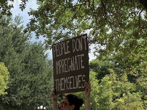 Stop Texas SB8 Now protest